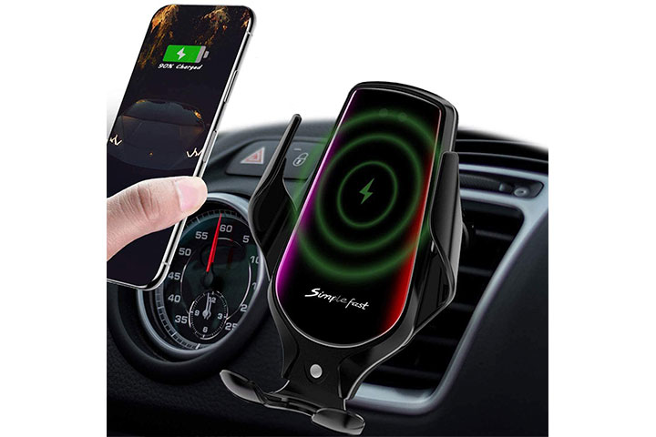 Lukkahh Wireless Car Charger Mount