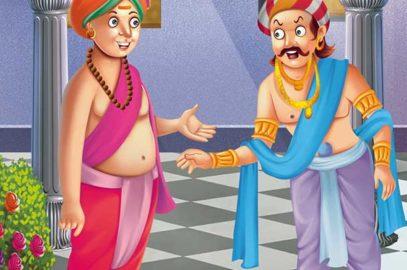 तेनाली रामा की कहानियां: मनहूस कौन   Manhoos Kaun Story in Hindi