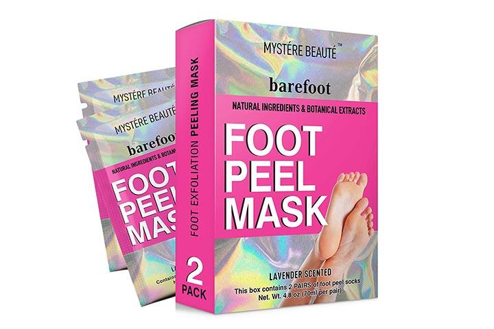 Mystere Beaute Foot Peel Mask
