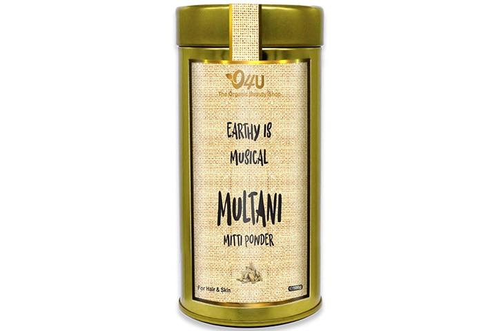 O4U Natural Freshest Organic Indian Multani Mitti Powder