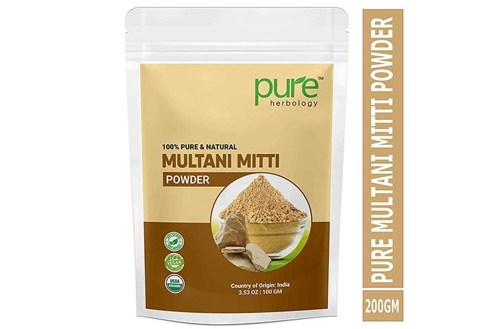 Pure Herbology Natural Herbal Multani Mitti Powder