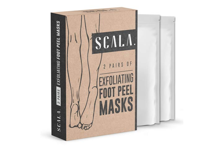 Scala Exfoliating Foot Peel Mask
