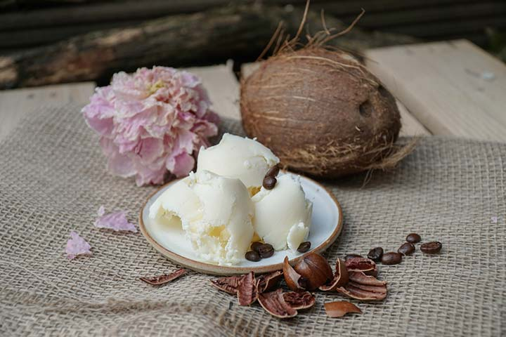 Shea butter or cocoa butter