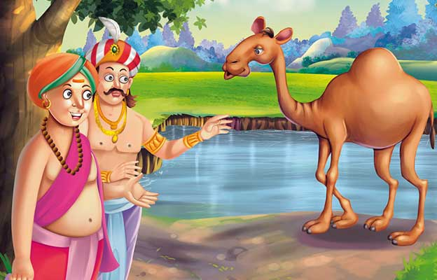 Tenali Raman Apradhi Bakri Story in Hindi