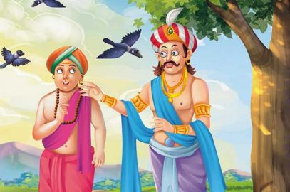 तेनालीराम बना जटाधारी सन्यासी   Tenali Raman Bana Jatadhari Sanyasi Story in hindi