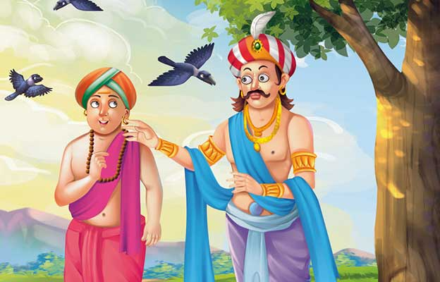 Tenali Raman Bana Jatadhari Sanyasi Story in hindi