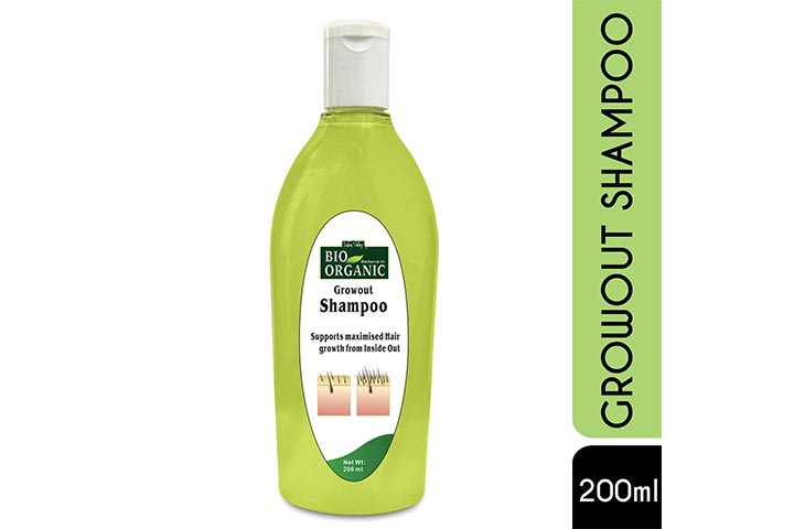 Indus Valley Bio Organic Natural Growout Shampoo