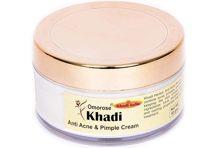 Khadi Omorose Anti-Acne and Pimple Cream
