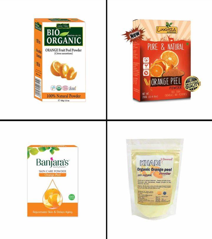11 Best Orange Peel Powders In India In 2021