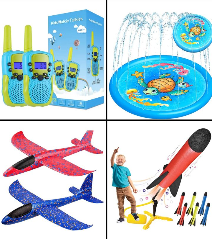 11 Best Outdoor Toys For A Three-Year-Old in 2021