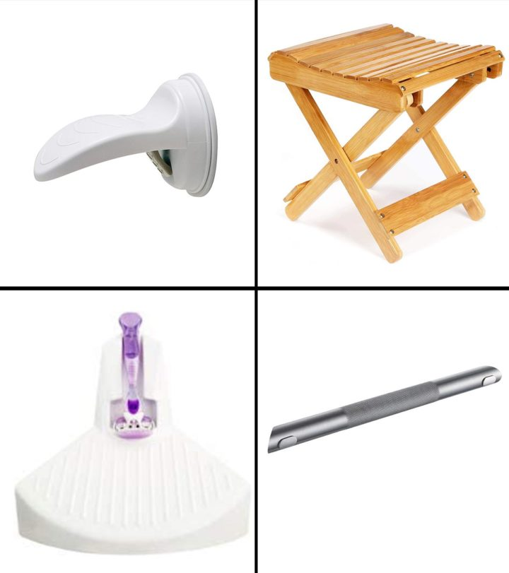 11 Best Shower Foot Rests To Buy In 2021