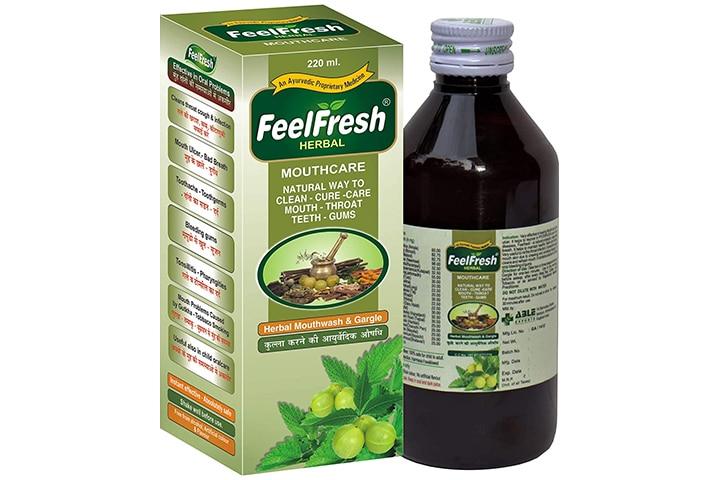 FeelFresh Herbal Mouthwash