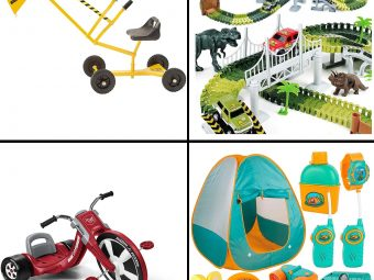 13 Best Outdoor Toys For A 4-Year-Old In 2021