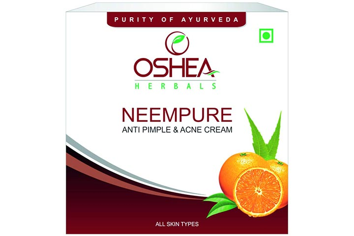 Oshea Neempure Anti-Acne And Pimple Cream