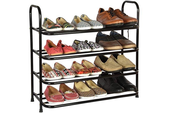 Benesta Multi-Purpose Steel Shoe Rack