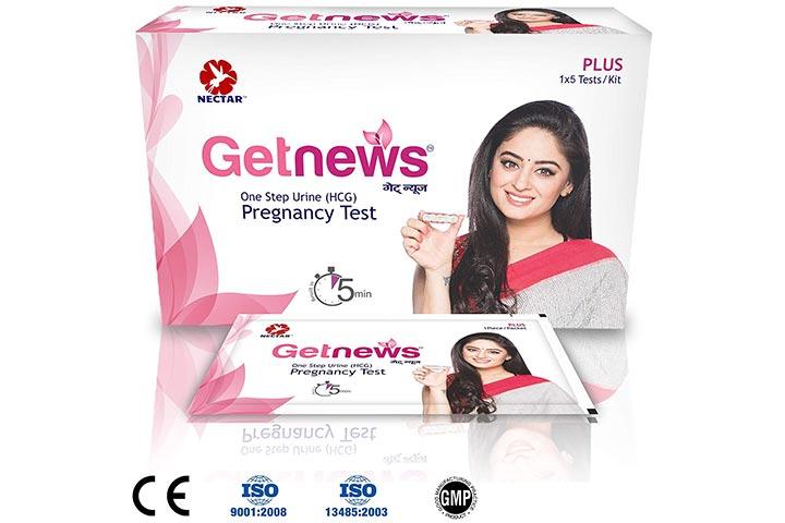 Neclife Getnews One Step Pregnancy Test