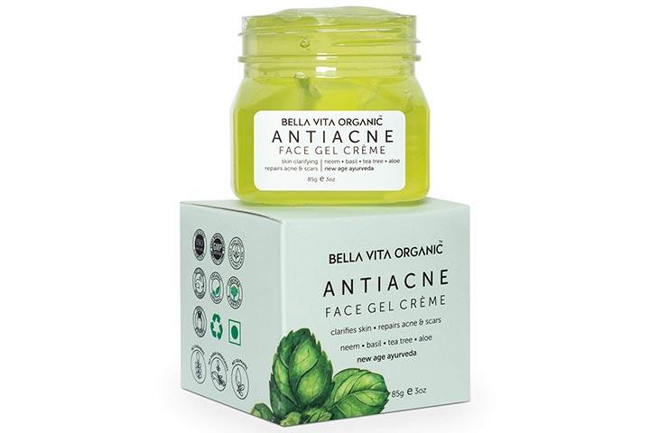Bella Vita Organic Anti-Acne Cream Gel