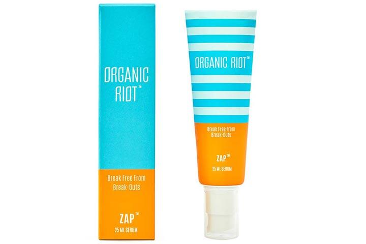 Organic Riot Zap Anti-Acne and Anti-Pimple Cream