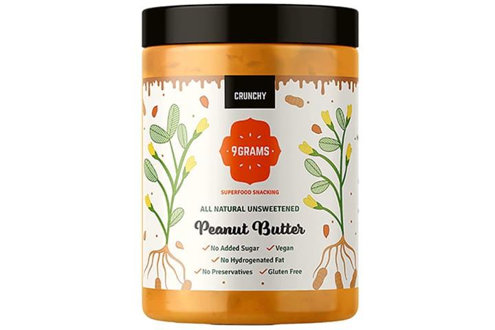 9GRAMS Crunchy Peanut Butter