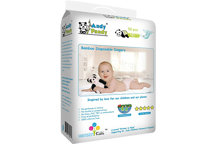 Andy PandyBamboo Disposable Diapers
