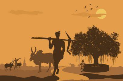 भूत की कहानी : भाग्य वाले का भूत हल जोतता है | Bhagya Wale Ka Bhoot Hal Jotata Hai Story In Hindi