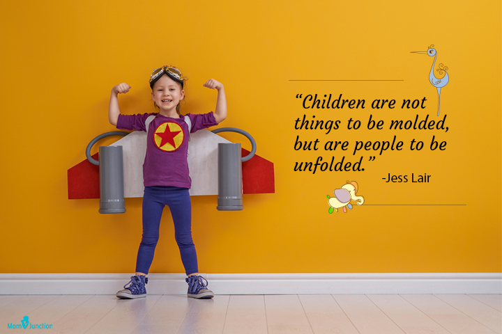Children are not things to be molded