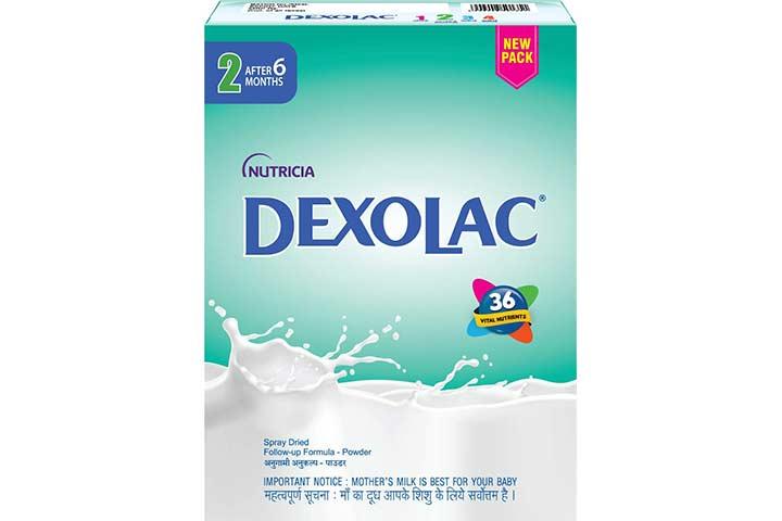 Dexolac Stage 2 Follow Up Infant Milk Formula