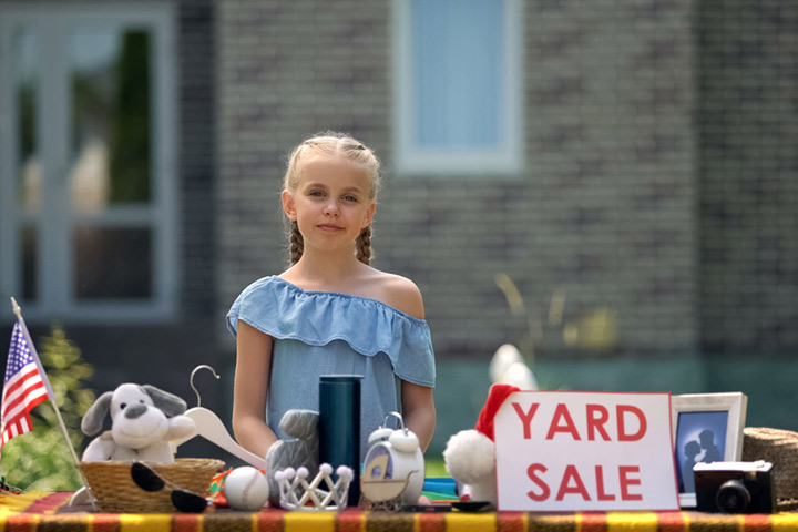 Donate or sell old toys