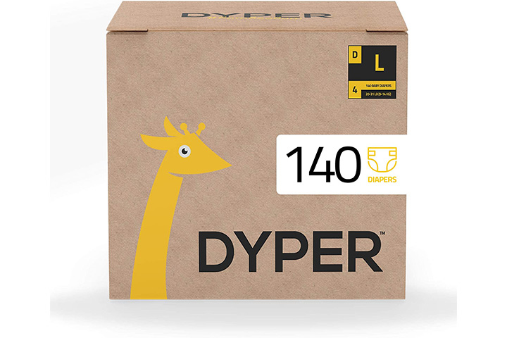 Dyper Bamboo Baby Diapers