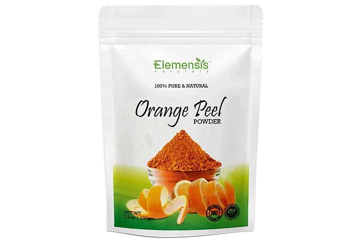 Elemensis Naturals Pure & Natural Orange Fruit Peel Powder