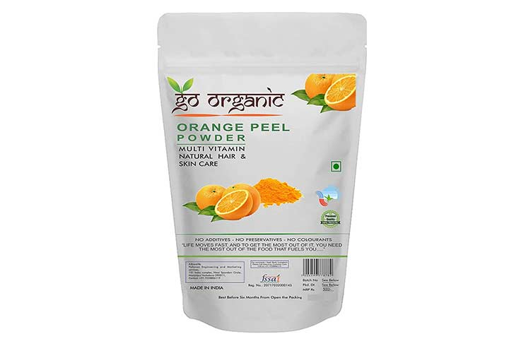 Go Organic Orange Peel Powder
