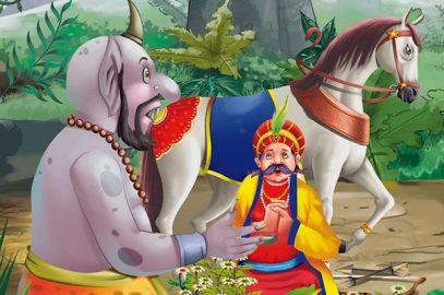 अकबर-बीरबल: हरे घोड़े की कहानी | Green Horse Story in Hindi