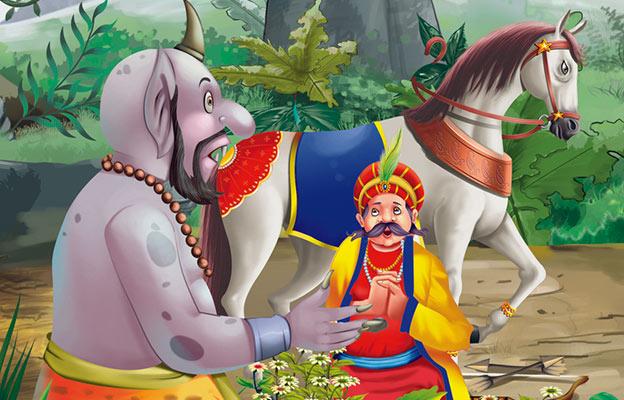 Green Horse Story in Hindi