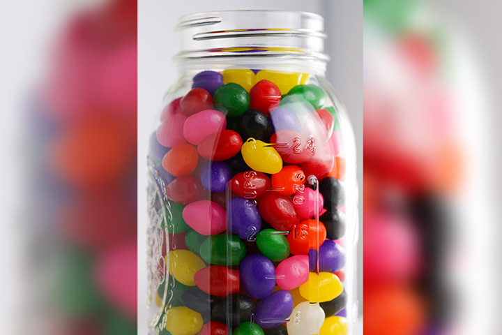 Guess the jelly beans