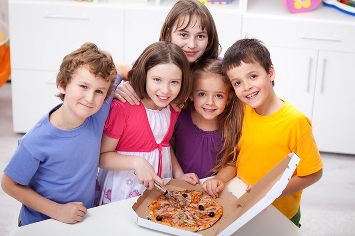 Host a pizza party