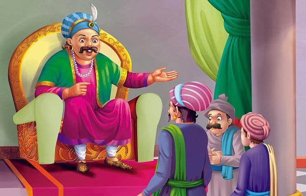 Jab Birbal Bachcha Bana Story in Hindi