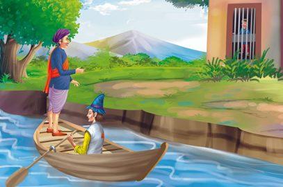 अकबर-बीरबल की कहानी: लहरें गिनना | Lehrein Ginna Story in Hindi