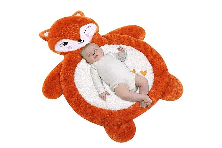 Little Grape Land Fox Tummy Time Mat