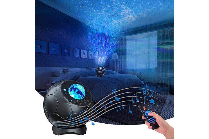 Lupantte Soccer Starry Night Light Projector