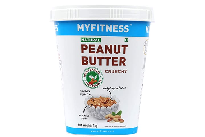 MYFITNESS Natural Peanut Butter