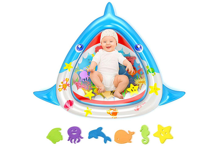 MeiGuiSha Tummy Time Baby Water Mat