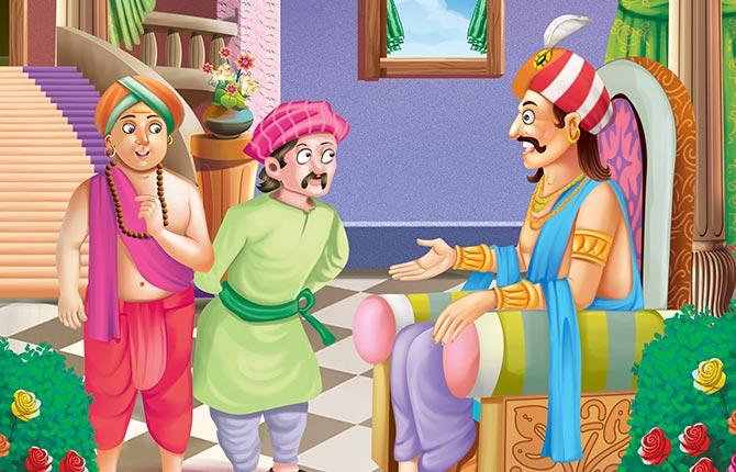 Nali Ka Kamaal Tenali Raman Story in Hindi