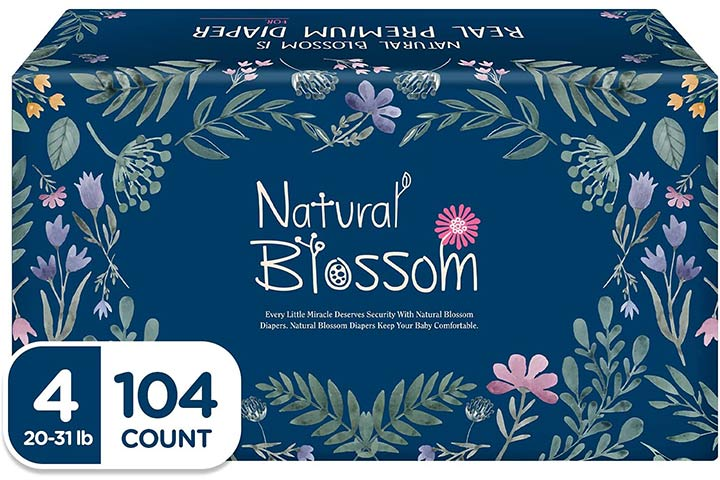 Natural Blossom Baby Diapers