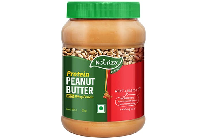 Nouriza Peanut Butter With Whey Protein