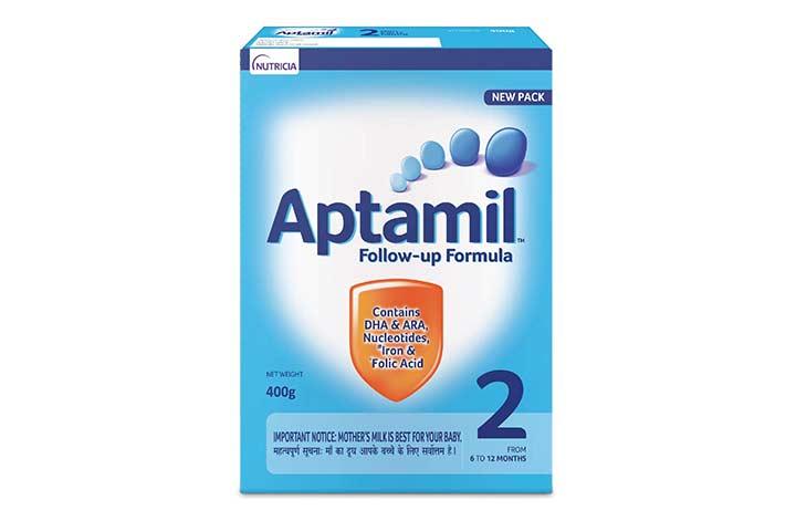 Nutricia's Aptamil 2 Follow Up Infant Formula
