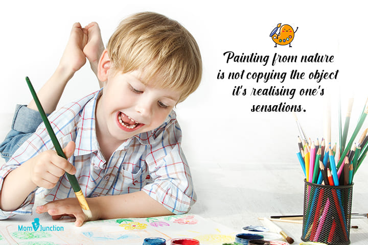 Painting from nature is not copying the object