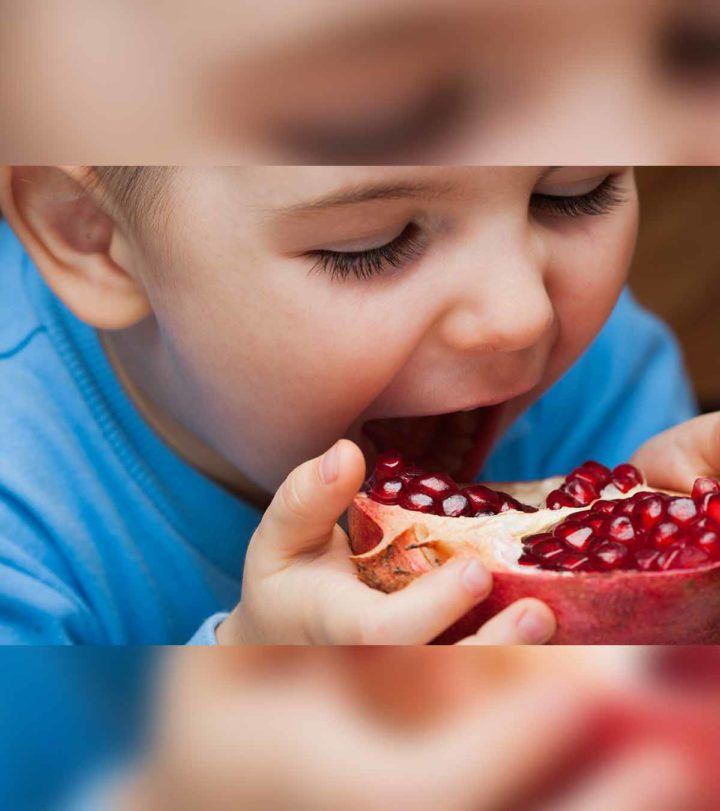 Pomegranate For Babies In Hindi