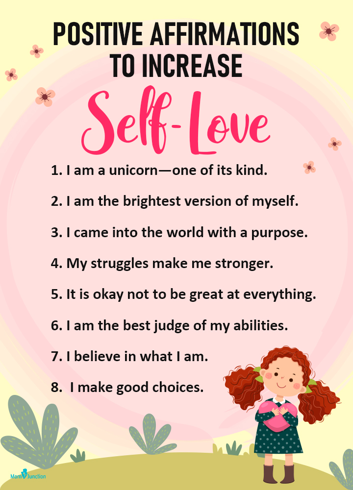 Positive Affirmations To Increase Self-Love