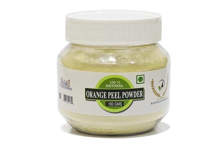 Raintech Herbals Organic Orange Peel Powder