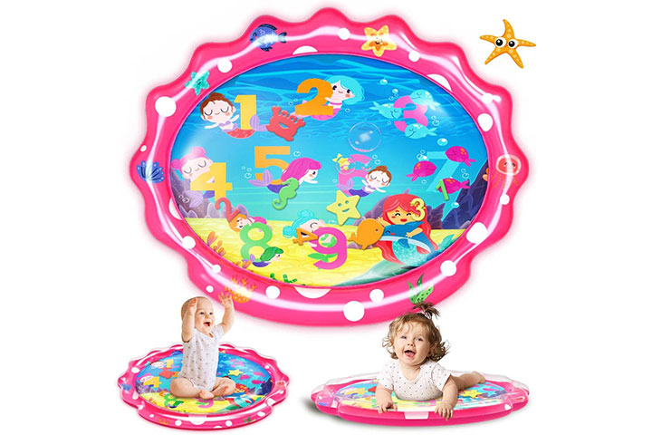 Seetoys Tummy Time Baby Mermaid Water Mat